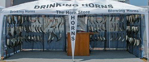 Horn store tent